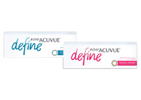 1-Day Acuvue Define  with LACERON & UV Blocking