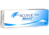 Johnson & Johnson 1 Day Acuvue Moist Lacreon Disposable Lenses