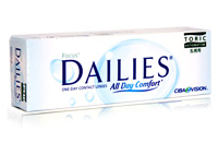 Focus Dailies Toric All Day Comfort for Astigmatism 30 Pack One-Day