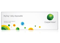 Coopervision MyDay Aquaform Comfort Science 30 Daily Disposable Lenses