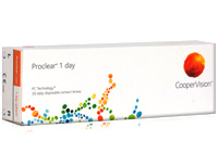 Proclear 1 Day Discount Daily Contact Lenses by Coopervision